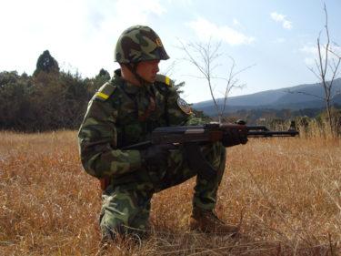 中国軍装で空挺スタイルに挑戦! (実物)
