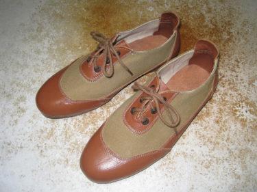 日本海軍 艦内靴 (中田商店製・複製品)