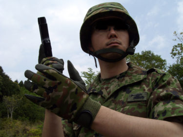 自衛隊のサイドアーム ~ 9㎜拳銃 (タナカ製・ガスブローバック)