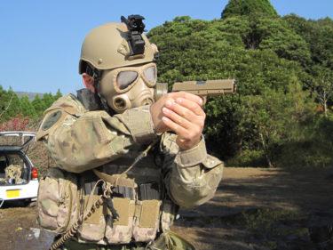 実用性は如何ほど? ~ アメリカ陸軍 M40 ガスマスク型ゴーグル (メーカー不明・サバゲー用品)