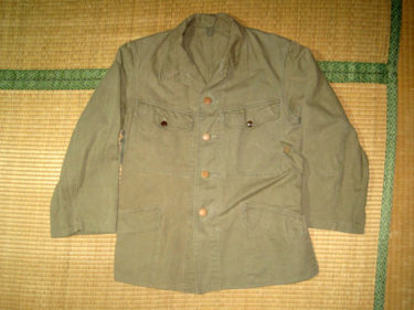 日本陸軍 防暑衣 (実物)
