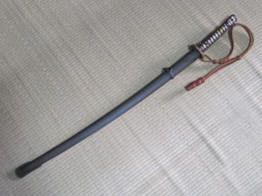 """通称""""曹長刀"""" ~ 日本陸軍 九五式軍刀 (PKミリタリア製・モデル品)"""