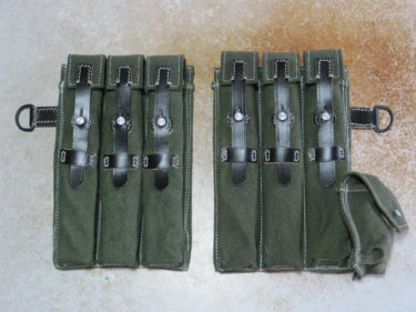 ドイツ国防軍 MP40 マガジンポーチ (中国製&エスアンドグラフ製・複製品)