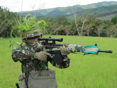 想定64式小銃 ~ H&K G3A3 (JG製・電動ガン)