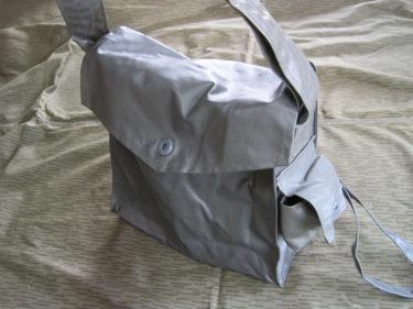 中身は代用品 ~ 東ドイツ軍 ガスマスクバッグ (実物)
