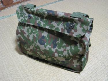 自衛隊の現用ガスマスクケース ~ 陸上自衛隊 00式防護マスクケース (PXサイトー製・複製品)