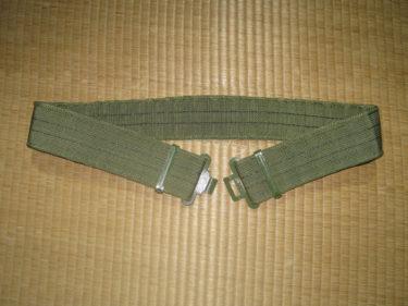 東ドイツ軍 グリーンナイロン 装備ベルト・UTV装備 (実物)