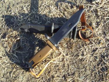 コンバットシリーズ AK-74用銃剣 (LS製・プラモデル)