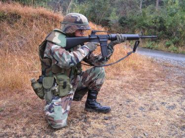 冷戦時代の現用装備 ~ アメリカ陸軍 ウッドランド迷彩 BDU&ALICE装備 [1980年代]