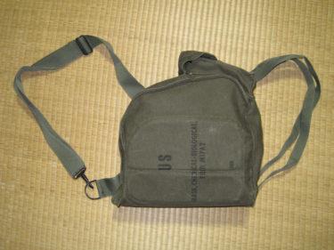 アメリカ軍 M17A2 ガスマスクバッグ (実物)
