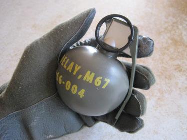 アメリカ軍 M67 手榴弾 (DAYTAC製・モデル品)