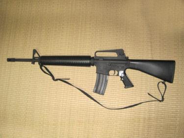 何気にリアルな機構持ち ~ M16A2 (トイスター製・エアコッキング)