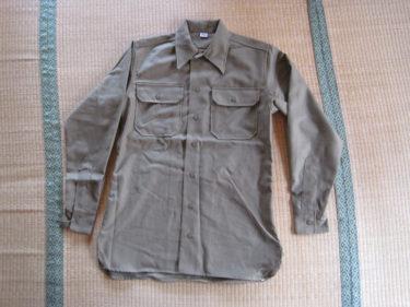 欧州戦線の基本装備 ~ アメリカ陸軍 ODフランネルシャツ&サージウールトラウザーズ (セスラー製・複製品)
