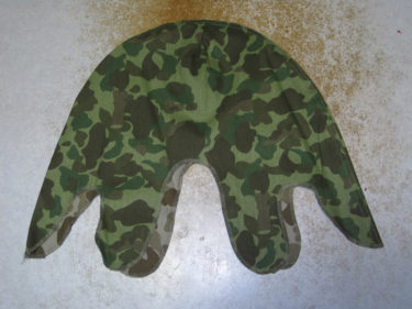 アメリカ海兵隊 ダックハンター迷彩ヘルメット・カバー (海外製・複製品)