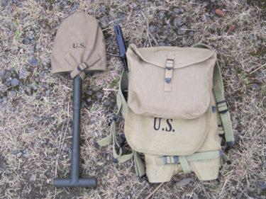 アメリカ陸軍 M1928 ハバーサック (海外製・複製品)