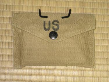 アメリカ陸軍 M1942 ファーストエイドポーチ・ブリティッシュメイド (東京ファントム製・複製品)