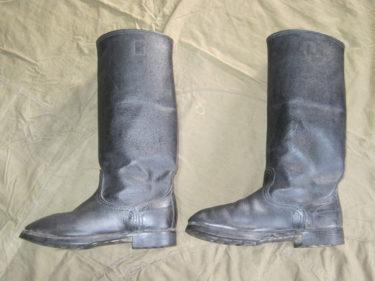 ソ連伝統の 「キルザチー」 ~ ソ連軍 徴収兵用ブーツ (実物)