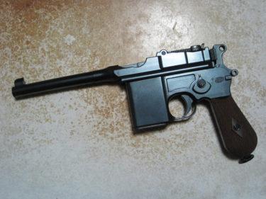 キャロムショットの塗装カスタム ~ モーゼル M712 (マルシン製・ガスブローバック)