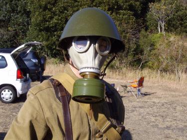 ガスマスクで遊ぼう! ~ ソ連軍 GP-5 ガスマスク (実物)