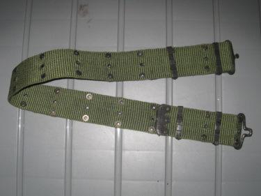 アメリカ陸軍 M1967 ピストルベルト (実物)
