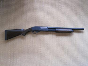 レミントンM870ショットガン・ウッドストックタイプ (東京マルイ製・ガスショットガン)