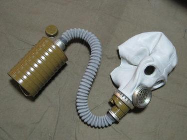 ソ連軍 ShMS ガスマスク (実物)