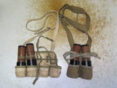 これぞジャングルメイド ~ 北ベトナム軍 手榴弾ポーチ (実物)