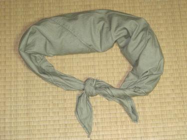 """人呼んで""""象の腸"""" ~ 北ベトナム軍 米袋 (カーキ・実物)"""