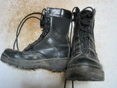 戦闘靴2型の同型民生品 ~ 走長靴 (戦人製・PX品)