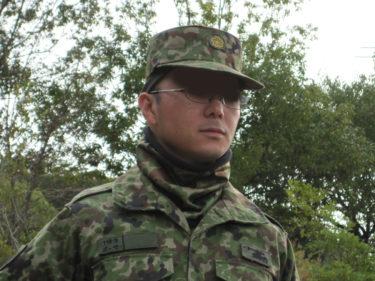 襟足あったか ~ 陸上自衛隊 2型迷彩ネックウォーマー (PX品)