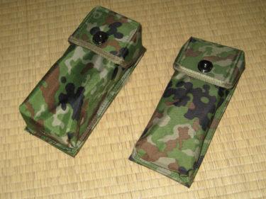 「バディー」専用マガジンポーチ ~ 陸上自衛隊 89式小銃用弾入れ・1本用&2本用 (PX品)