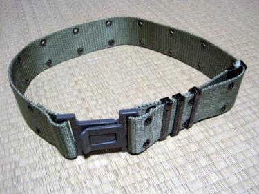 自衛隊のピストルベルト ~ 陸上自衛隊 91式弾帯 (PX品)