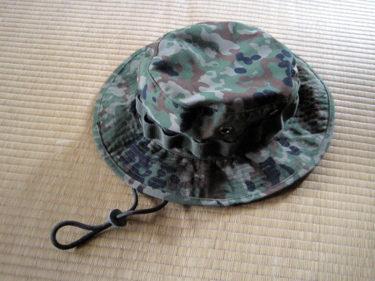 米軍スタイルの防暑帽 ~ 陸上自衛隊 2型迷彩ブッシュハット (戦人製・PX品)