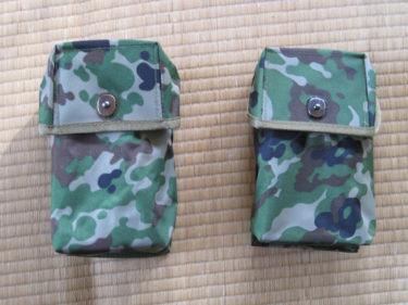 陸上自衛隊 64式小銃弾納・1本用&2本用 (中国製・PX品)
