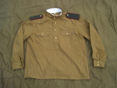 """通称""""ルバシカ"""" ~ ソ連軍 1943年型ギムナスチョルカ (海外製・複製品)"""