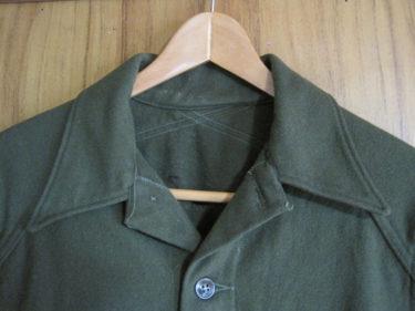 朝鮮戦争モデル ~ アメリカ軍 OG-108 フィールドウールシャツ (実物)