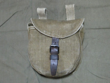ソ連軍 PPSh-41 ドラムマガジンポーチ (実物)