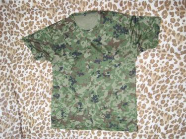 陸上自衛隊 ジェットRファイン Tシャツ・2型迷彩 (戦人製・PX品)