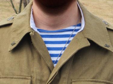 縞シャツは漢の証! ~ ロシア軍 ボーダーシャツ (実物)