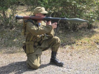 RPG-7 携帯対戦車擲弾発射器 (メーカー不明・モデル品)