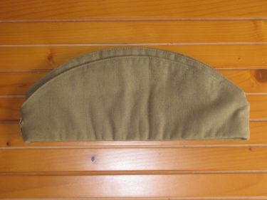 伝統的舟形帽 ~ ソ連軍 ピロトカ (実物)