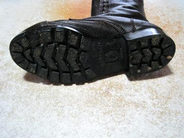 官品よりも革がやわらか ~ 陸上自衛隊 半長靴 (PX品)