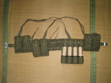 中国人民解放軍 63式小銃 単兵装具 (実物)