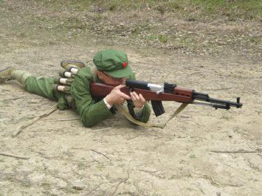 1960-1970年代的陸軍士兵 ~ 中国人民解放軍 陸軍 士兵装備 [63式小銃]