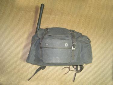 独特のヨコナガ構造 ~ 陸上自衛隊 73式背嚢 (実物)