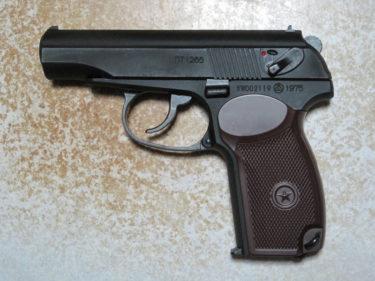マカロフPM 中型自動拳銃 (KSC製・ガスBLK)