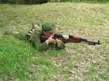 1960~1970年代的陸軍士兵 ~ 中国人民解放軍 陸軍 士兵装備 [56式半自動小銃 (SKS)]