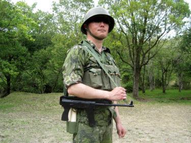 1980年代的陸軍士兵 ~ 中国人民解放軍 陸軍 偵察部隊装備 [79式短機関銃]