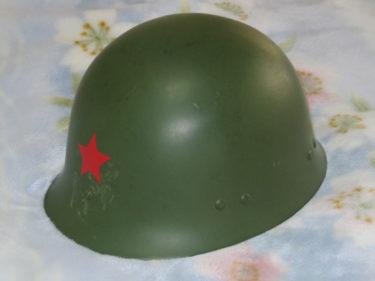 中国人民解放軍 65式傘兵ヘルメット (実物)