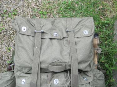 中国人民解放軍 65式傘兵背嚢 (実物)